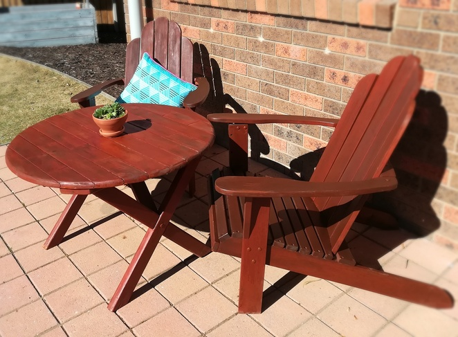 recycle, wood,,cod chairs, varnish, laquer, stain, cod chairs, upcycle, recycle, australia, garden furniture, cheap, salvos, op shops, vinnies,