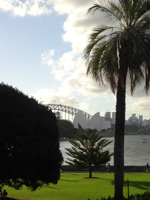 Royal Botanic Gardens, Opera House