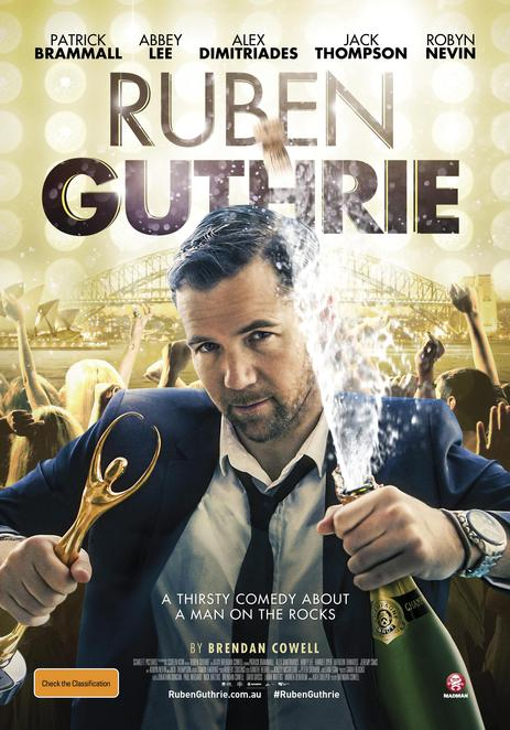 Ruben Guthrie, Ruben Guthrie movie, movie reviews, film reviews, new releases, coming attractions, Australian films, Australian movies