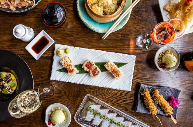 sake restaurant, the rocks restaurants, set menus, bottomless lunches sydney