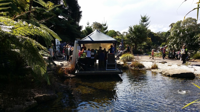Science in the Wild Australian Botanic Garden Frog and Tadpole Study Group