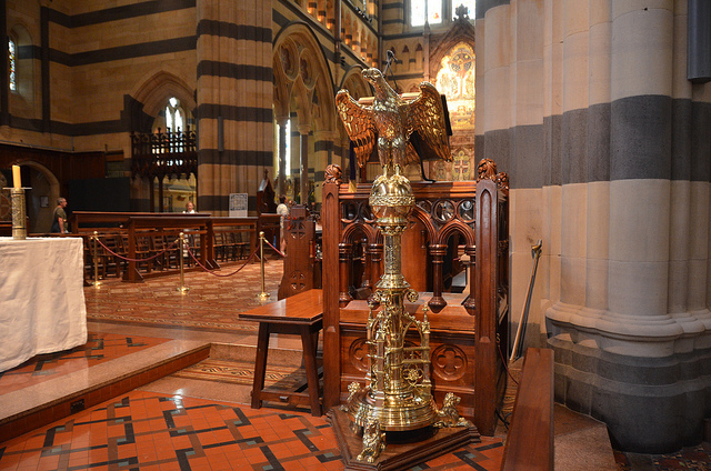 St Paul's Cathedral brass lectern