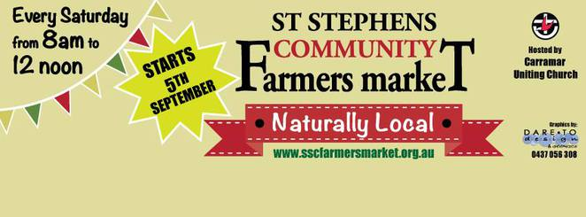 Image courtesy of the St Stephen's Community Farmers Market