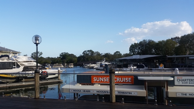 Sunset, sunset cruise, Noosa, Noosa river