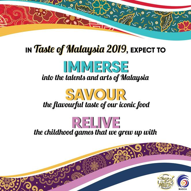 taste of malaysia 2019, mcculture, masca, malaysian dishes, malaysian vendors, cultural performances, entertainment, old school yard games, malaysian event in melbourne, community event, fun things to do, cultural event
