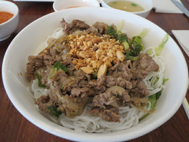 Thanh Viet Restaurant, Beef Steak Vermicelli Salad, Adelaide