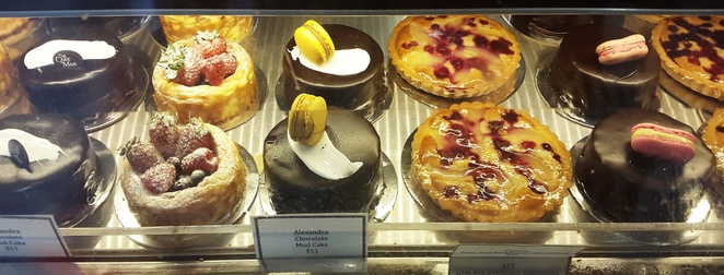 The Cakeman cake selection