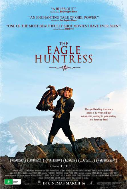 The Eagle Huntress, The Eagle Huntress movie, The Eagle Huntress film, The Eagle Huntress film review, The Eagle Huntress movie review, Documentaries, New releases