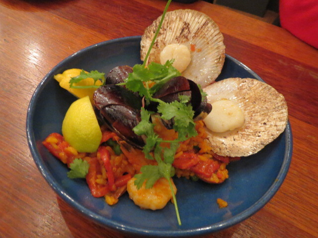 The Hackney Hotel, Seafood Paella, Adelaide