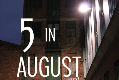 top five events in august