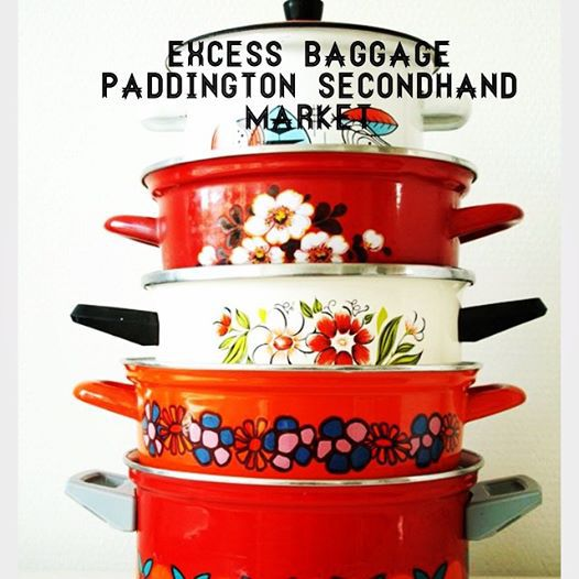 trash and treasure, Excess baggae paddington secondhand market, christmas shopping, whats on in brisbane, op shops brisbane, markets,