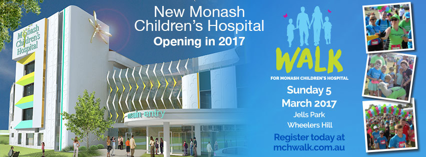 Walk for Monash Children's Hospital - Jells Park - Melbourne
