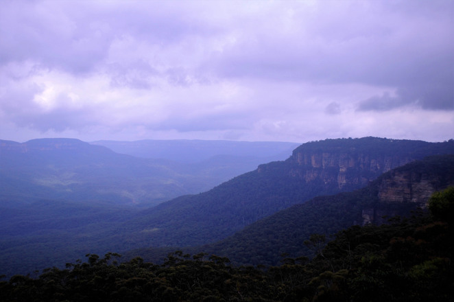 wentworth falls lookout, wentworth falls