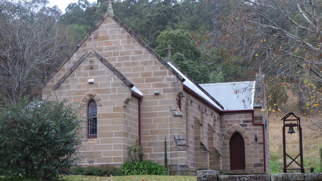 Wollombi church