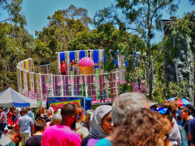 Al Salam Festival, in adelaide, veale gardens, free things to do, islam, muslim, fun for kids, free event, festival in adelaide, amusement park rides