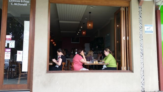 Alfresco and fresh food are great mix at King Bean