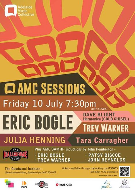 Country and Folk Sessions and More at Adelaide Music Collective