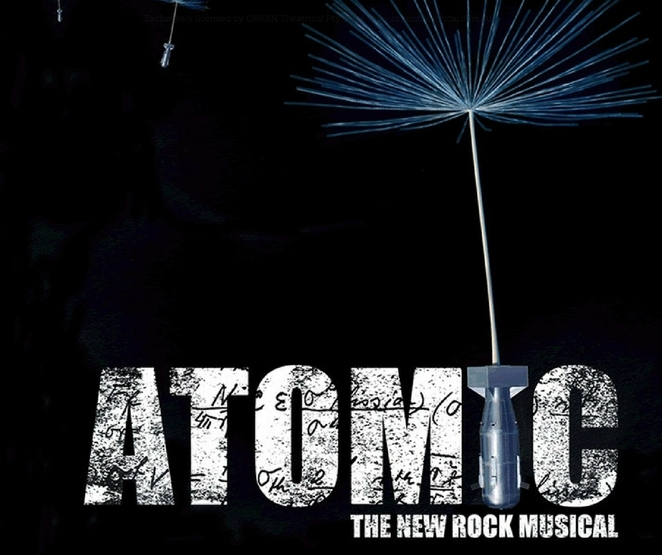 Atomic The New Rock Musical, Beaufort Monday Night Markets, Hamilton Hill Memorial Hall, musical theatre, the Manhattan Project, Danny Ginges, Philip Foxman, song, drama, street food, Blak Yak theatre