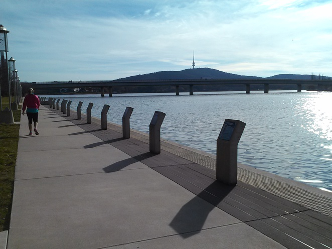 Australian of the Year Walk, Lake Burley Griffin, Canberra