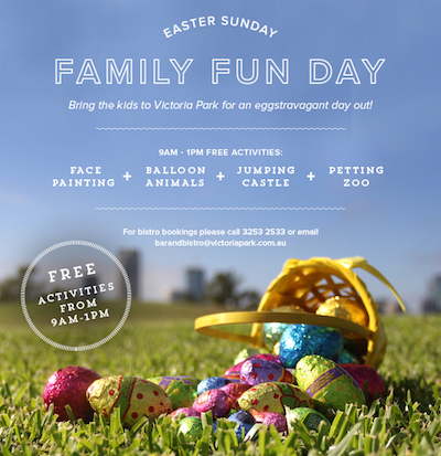 Easter sunday family fun day free event brisbane easter sunday family fun day free event negle Images