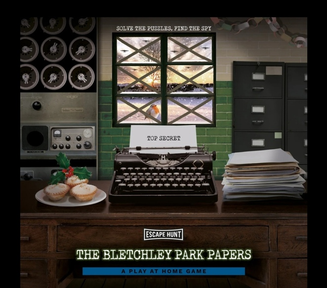 Bletchley Park, Escape Hunt, play at home games