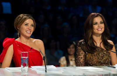 cheryl cole dannii minogue x factor