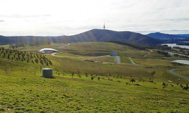 dairy farmers lookout, canberra, national arboretu, ACT, best bike rides in canberra,