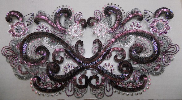 French Couture Tambour Embroidery Adelaide