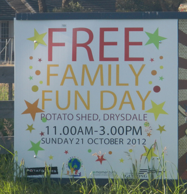 Free Family Fun Day @ The Potato Shed