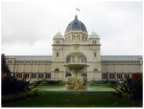 Exhibition Fountain, Hochgurtel Fountain, Royal Exhibition Building, carlton gardens,