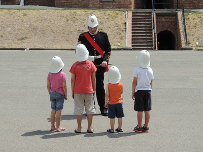 fort glanville, what's on in adelaide, about adelaide, semaphore, coastal fort, reenactments, conservation park