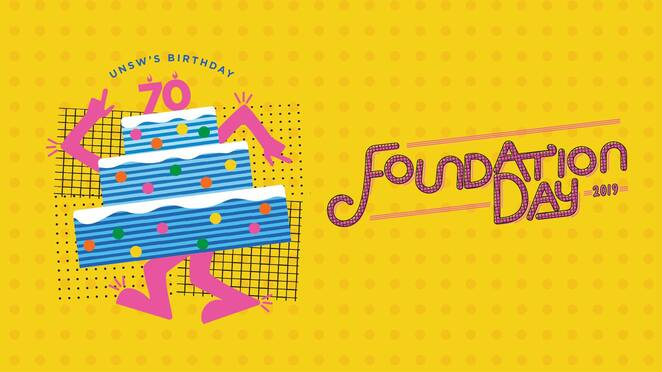 foundation day 2019, unsw's 70th birthday 2019, community event, fun things to do, arc, unsw student life, arc precinct basser steps, kensington, scavenger hunt, tug of war, rides, stalls, clubs, cake, performances, freebies, free food, prizes, pranks, live music, entertainment, community event, fun things to do