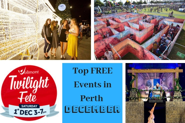 free events Perth Christmas