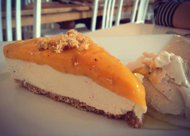 From Earth and Water Raw Vegan Citrus Cheesecake