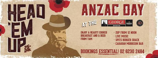 george harcourt inn, canberra, ACT, two up, anzac day, 2017, pubs, clubs, ACT,