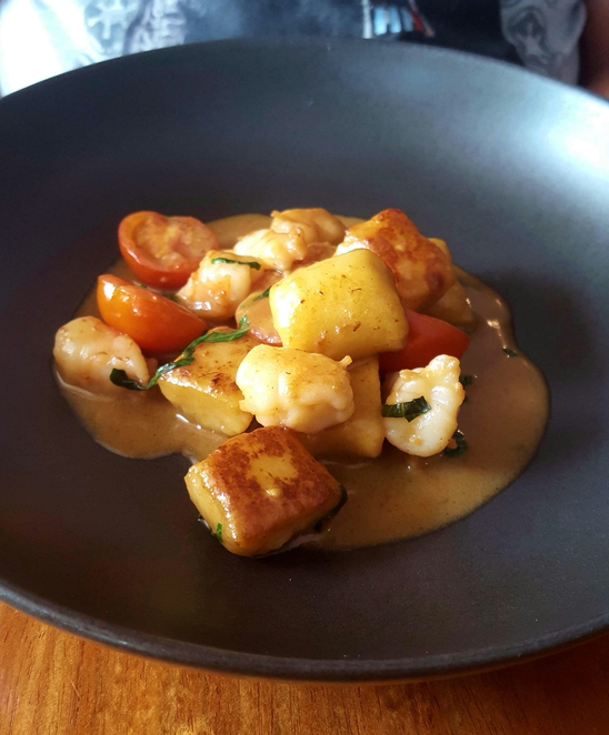 Gnocchi, lunch, fine dining