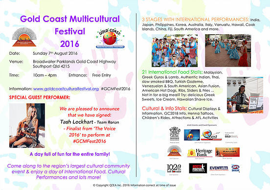 Gold Coast festivals, multicultural festival, Gold Coast events, free events, food and drink, cultural events