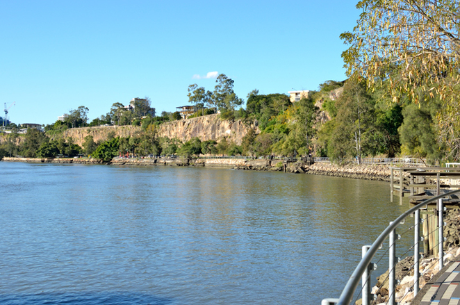 Kangaroo Point Cliffs, Brisbane Riverside Walk, Southbank, Brisbane