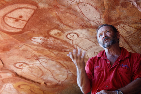 Kimberley Guide Mike Cusack Aboriginal rock art