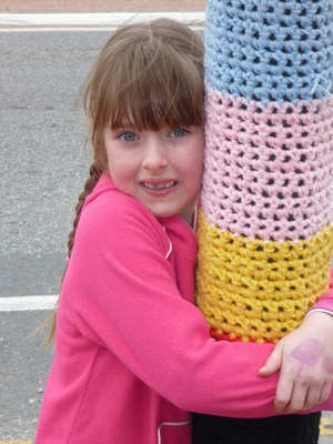 Knitted Light Pole