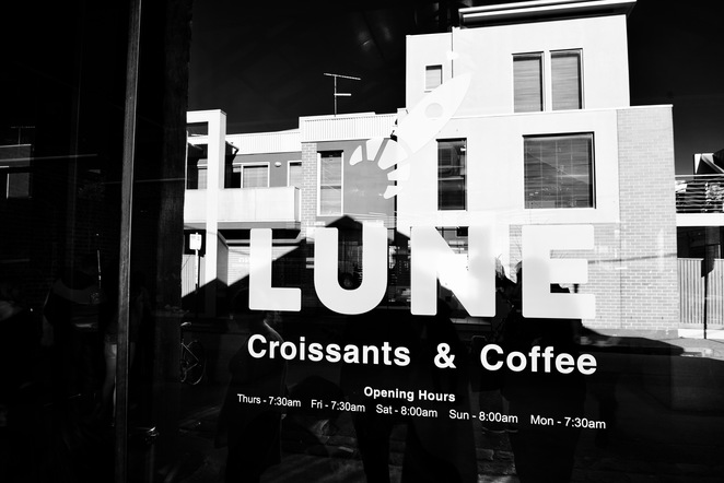 Lune Croissanterie opening hours. Photo by Jade Jackson Photography.