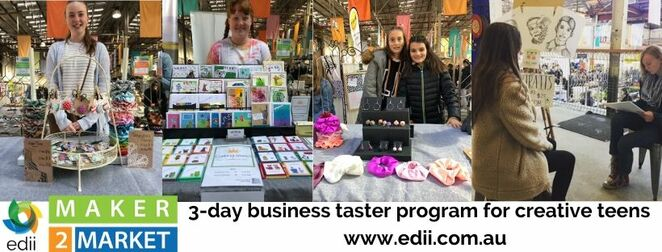 maker2market, old bus depot markets, school holiday programs, teenagers, startup, canberra, ACT, april, 2020, whats on,