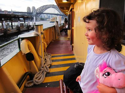 Manly Ferry Ride, Sydney