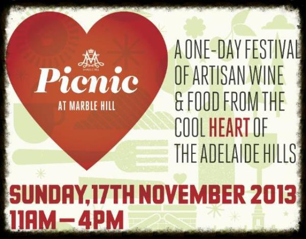 marble hill, picnic, artisan, food, wine, adelaide hills