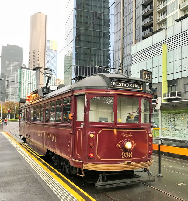 melbourne, colonial, tramcar, restaurant, fine dining, luncheon, sight seeing, history, tour the city