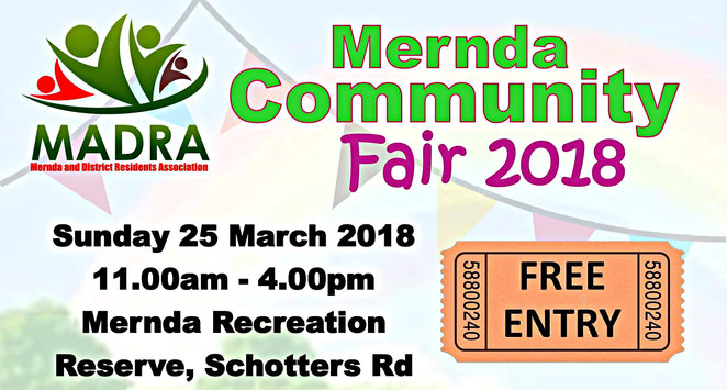 mernda community fair 2018, community event, fun things to do, fun for kids, mernda recreation reserve, low cost, family friendly, entertainment, free entry, market stalls, food trucks, face painting, pony rides, petting zoo, classic cars, carnival rides, reptile show, mobile skate park, main stage, music, scouts, local sports and community groups