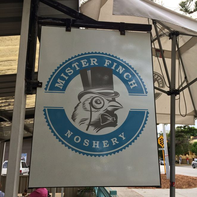 Mister Finch, cafe, breakfast, Fremantle