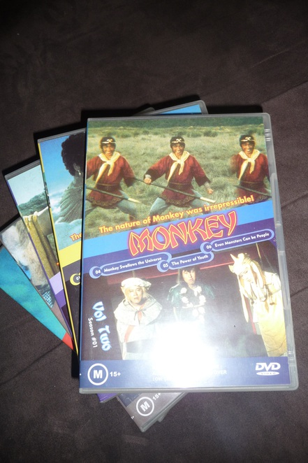 monkey, monkey magic, dvd, childrens dvds, dvds to watch on the school holidays