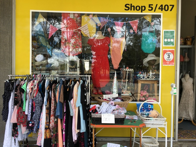 moorooka vintage retro op shop secondhand charity collectables thrift store brisbane