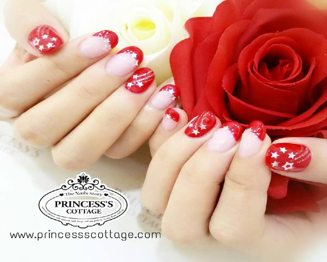 NDP, SG51, nail polish, national day nail design